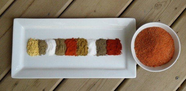 Basic BBQ Rub Recipe for chicken and ribs