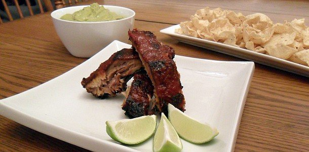 Chipotle and Lime Smoked Ribs