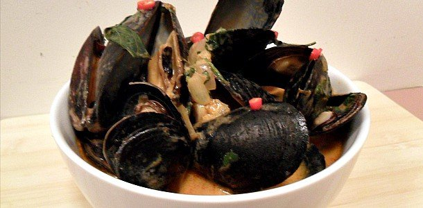 Thai Red Curry Mussels Recip