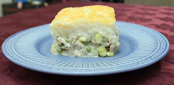 Leftover Thanksgiving Dinner Casserole