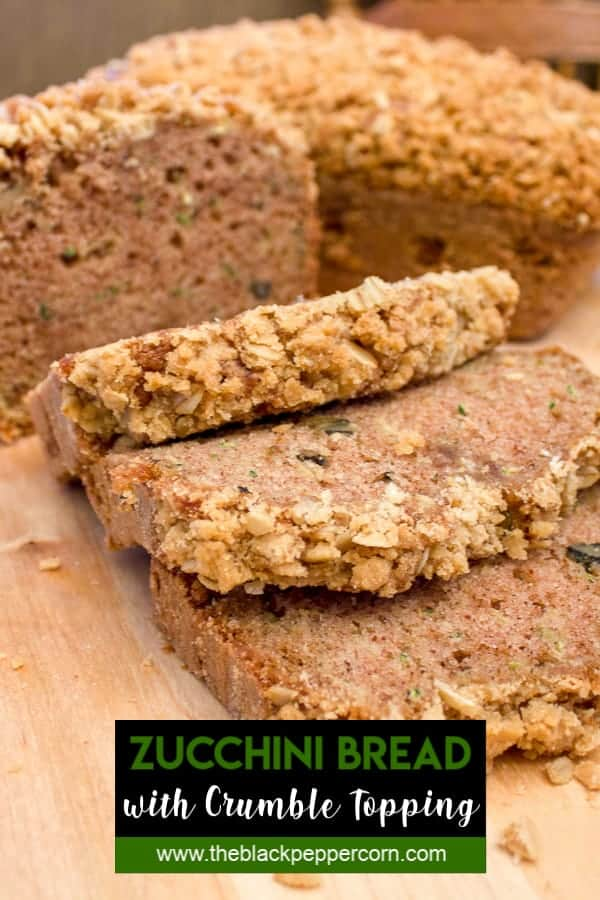 Zucchini Bread Recipe - The best you will ever taste!
