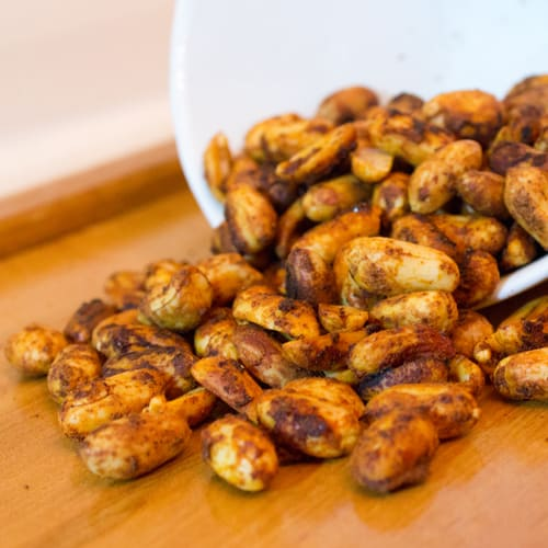 Chili Lime Spiced Peanuts
