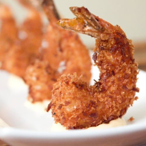 Coconut Shrimp and Thai Mayo
