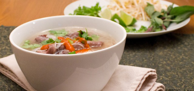 Beef Pho Vietnamese Soup (Pho Bo) - The Black Peppercorn