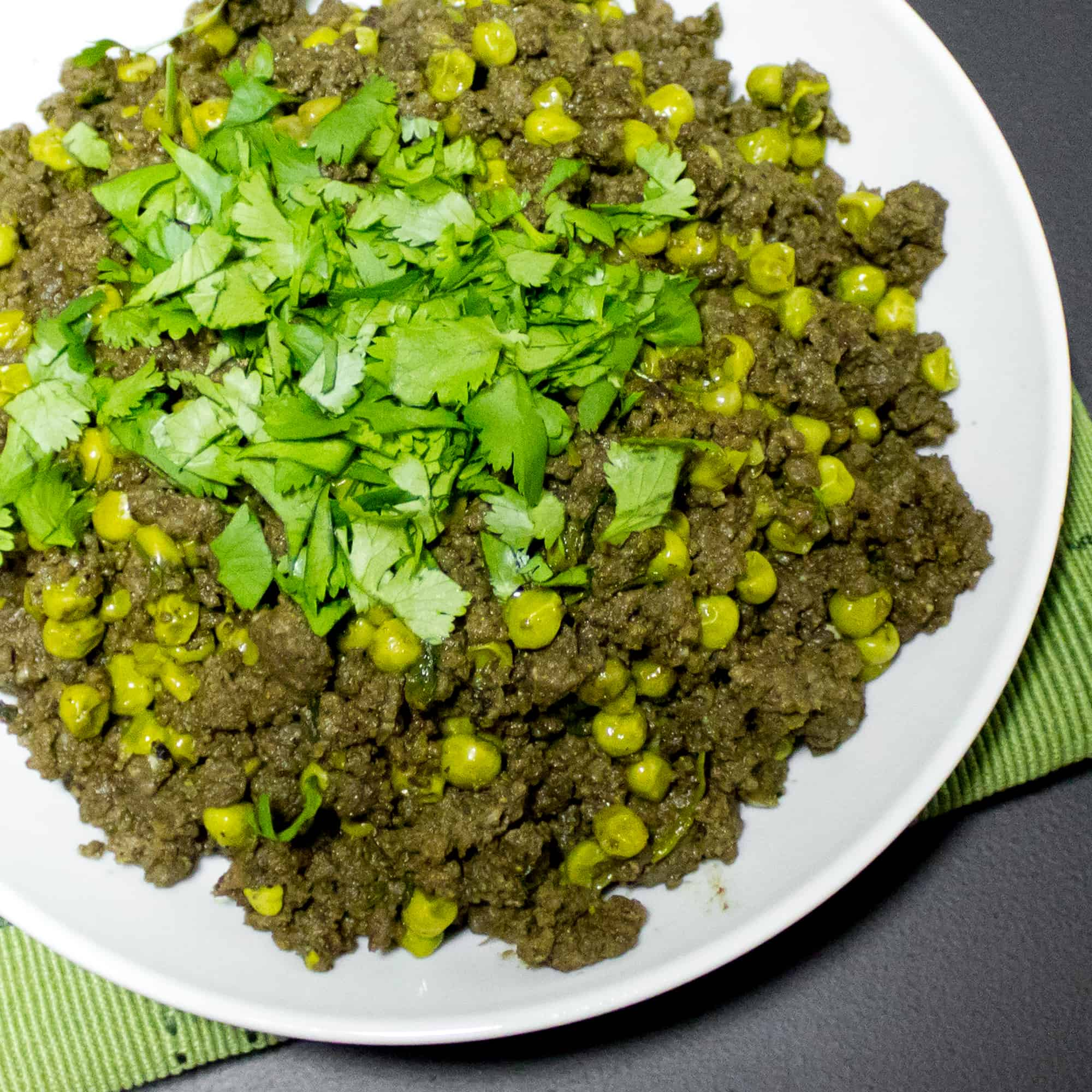 A delicious Indian dish made with mince beef, ginger, garlic and other curry seasonings.