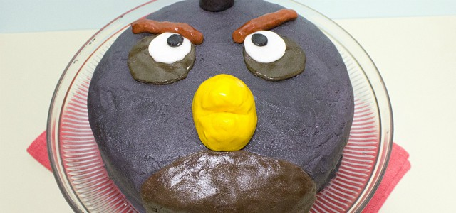 Black Bird Cake – from Angry Birds
