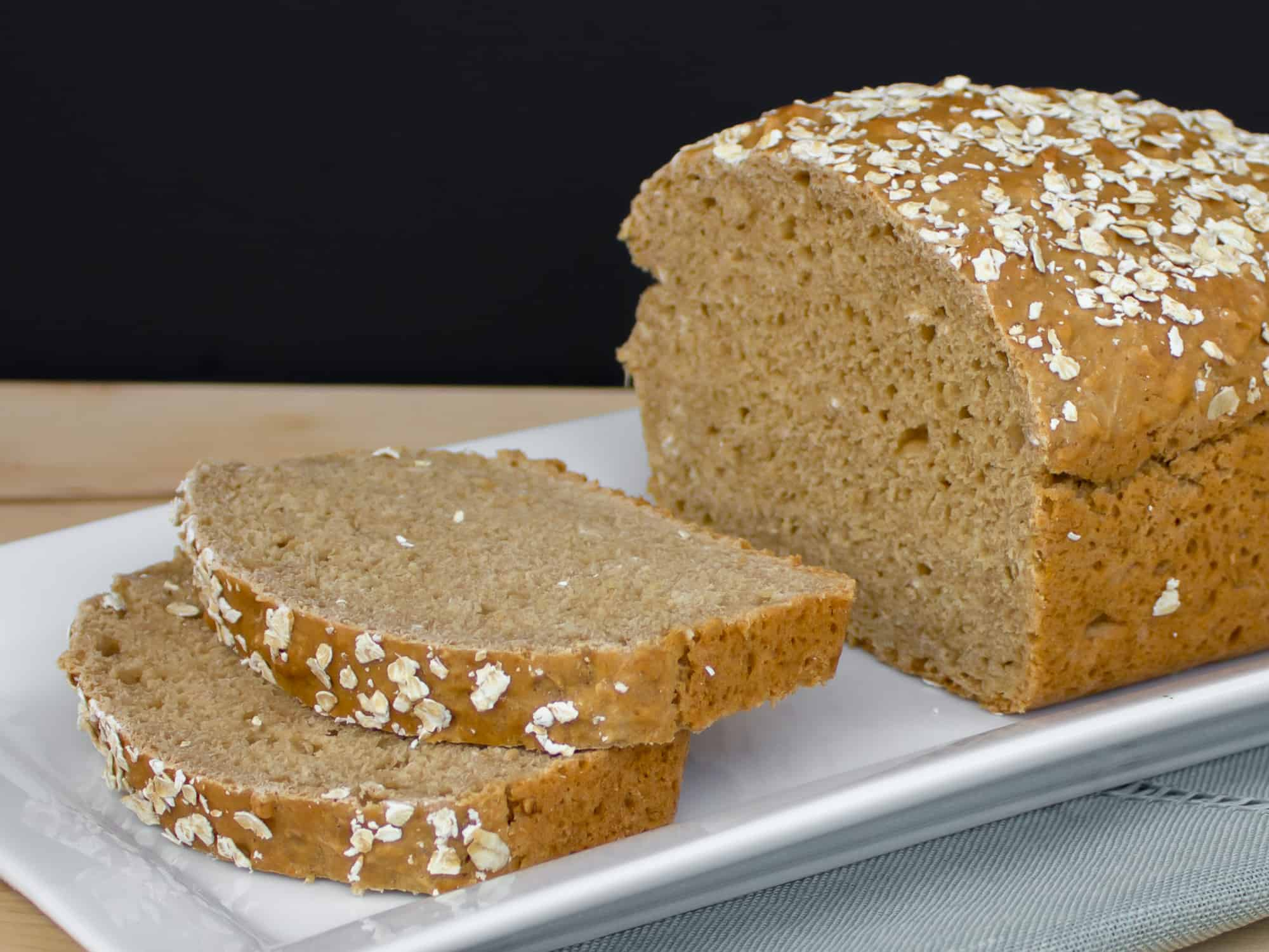 This Guinness beer bread 'no yeast' recipe can be made in under an hour and tastes amazing with the wonderful taste of the classic Irish stout.