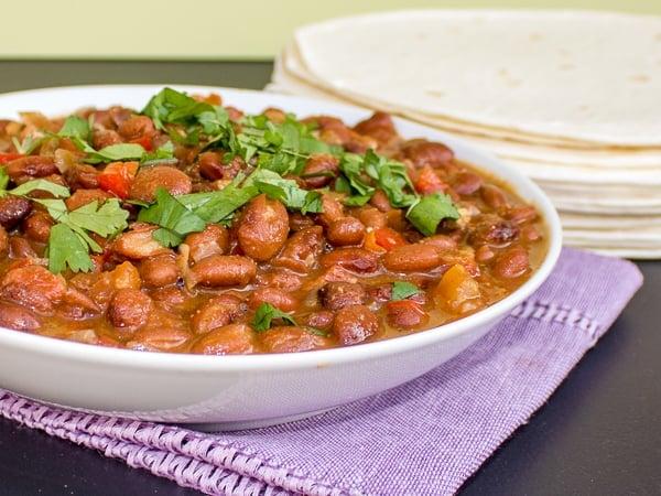 how to make mexican pinto bean recipe