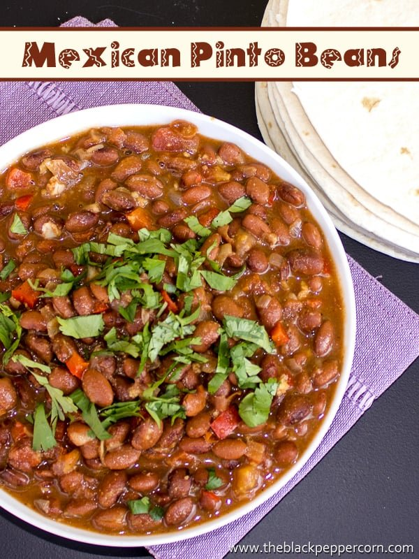 how to make mexican pinto bean recipe