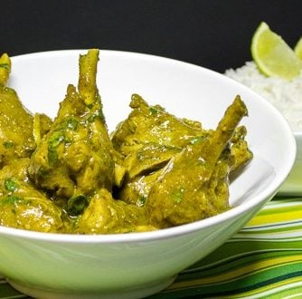 Trinidad Style Chicken Curry
