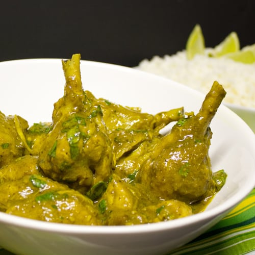 Tom's Trinidadian Chicken Curry Recipe — Dishmaps