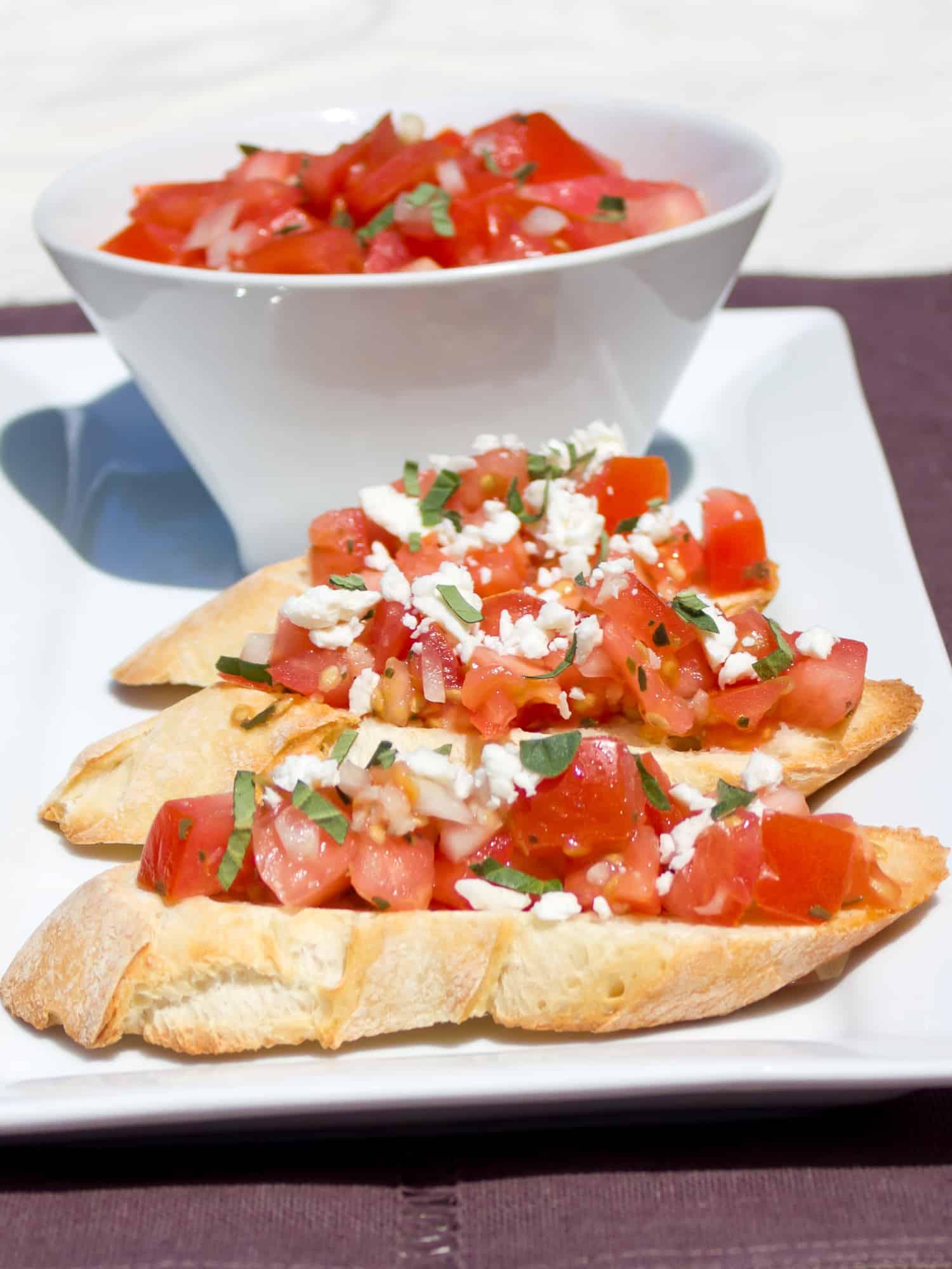 Make tomato bruschetta bread right at home with this simple recipe.