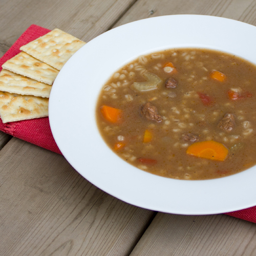 Homemade Beef Barley Soup - easy recipe
