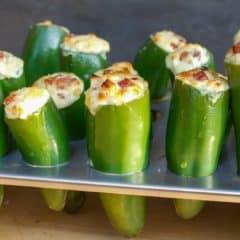 Chorizo Stuffed Jalapeno Poppers