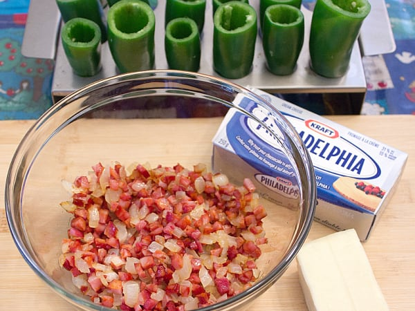 Chorizo Stuffed Jalapeno Popper - perfect party food