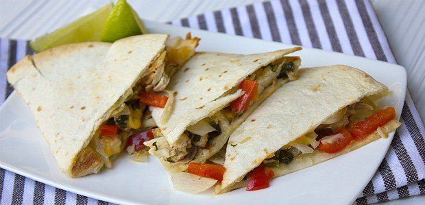 Chicken Cilantro Quesadilla