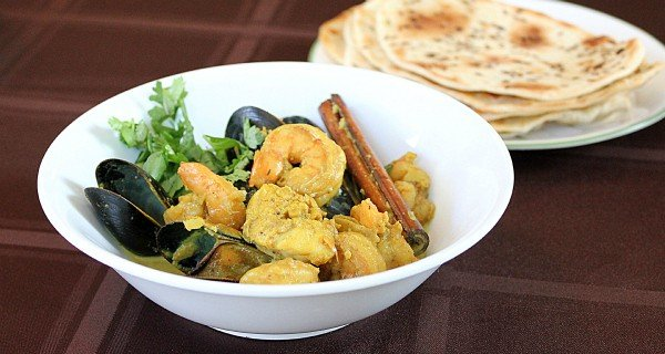 Seafood Curry – Indian Style