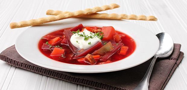 Ukrainian Borscht Recipe Beet Soup The Black Peppercorn