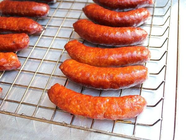 Smoked Italian Sausages Hot Mild Or Honey Garlic