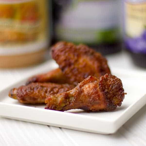 These sticky PB&J wings have a sweet tangy flavour that resemble Thai peanut satay flavours. Not many ingredients in this recipe (peanut butter, jam, juice, vinegar) , these wings are easy to make and are delicious