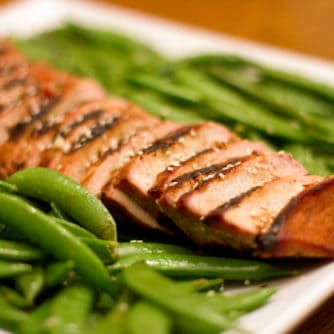 Spicy Asian Grilled Pork Loin Roast