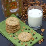 triple chip Oatmeal Cookies sq2