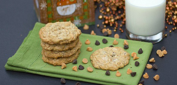 Triple Chip Oatmeal Cookies - chocolate, butterscotch ...