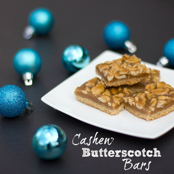 cashew butterscotch bars text