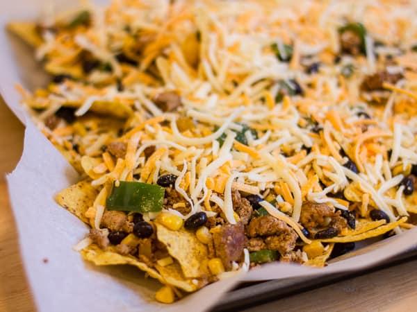 Serve the nachos with guacamole, sour cream, salsa or even some fresh ...