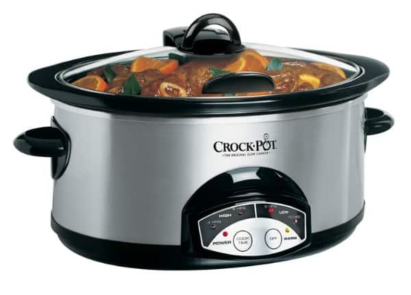 crock pot 6 quart slow cooker