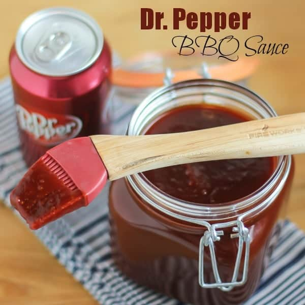 Dr Pepper BBQ Sauce text