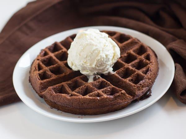 Cake Mix Waffles Recipe