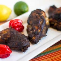 How to Make Oven Baked Jerk Chicken Jamaican Style