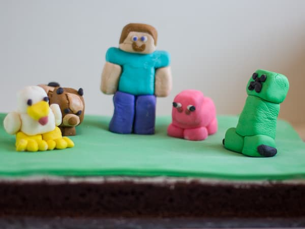 minecraft cake creeper