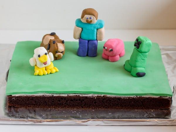 minecraft cake full cake