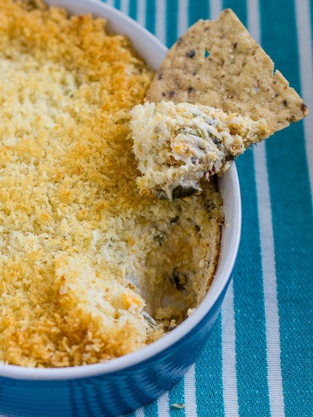 roasted jalapeno popper dip tall