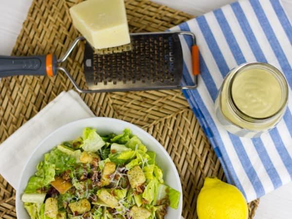 Homemade Caesar Salad Dressing-16