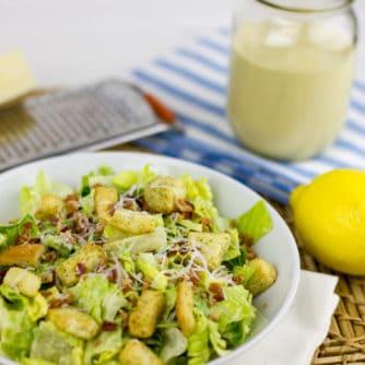 How to make caesar salad dressing