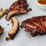 Grilled Maple Glaze Ribs