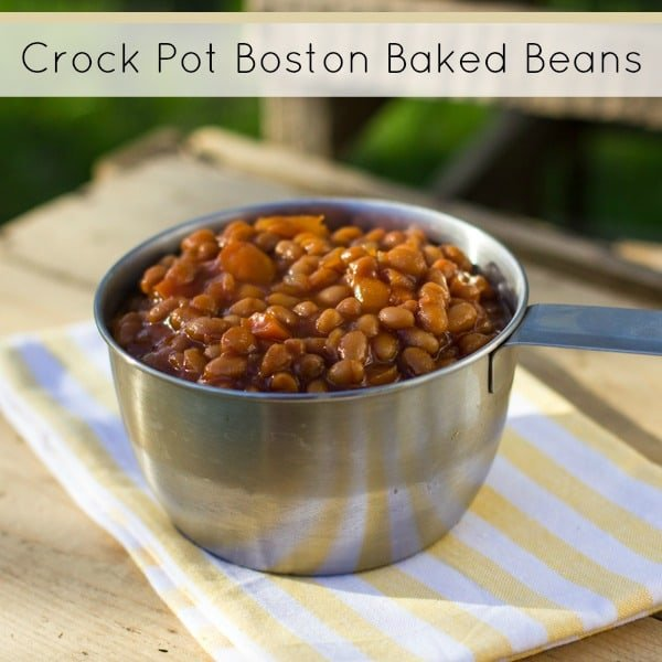 Slow Cooker Baked Beans text