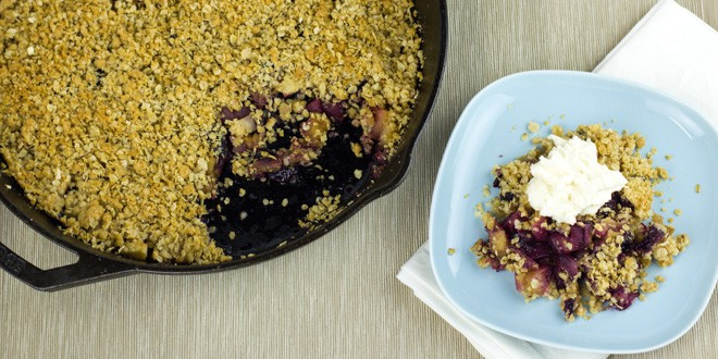 apple blueberry crumble apple crumble or crisp is one of those super ...
