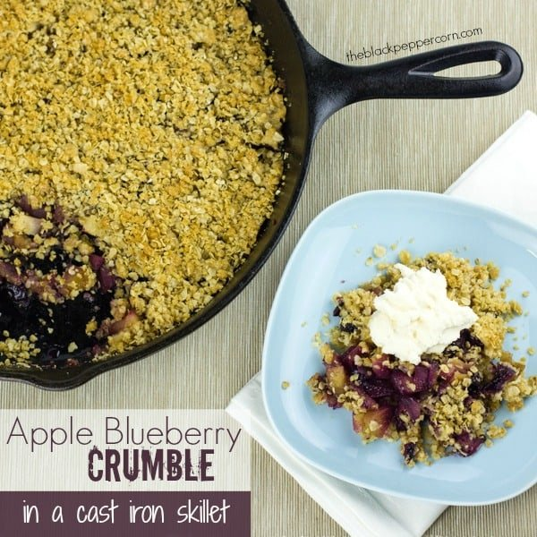 Apple Blueberry Crumble-text
