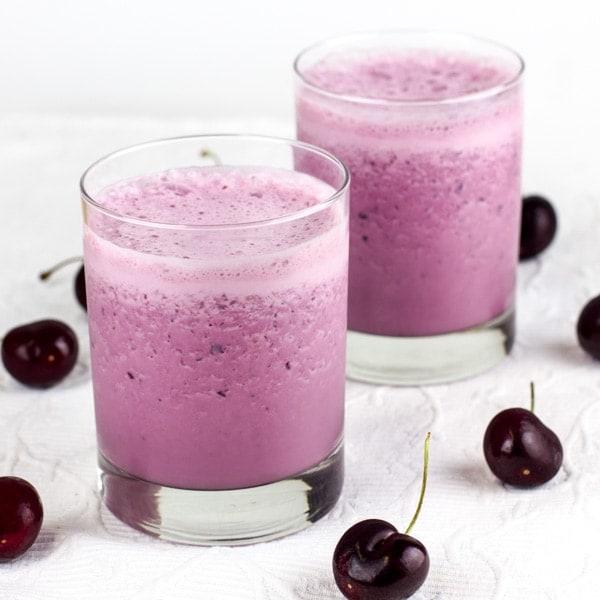 Black Cherry Milkshake Smoothie-2