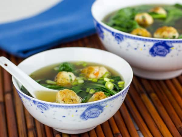 Chicken and Shrimp Meatballs in Star Anise Broth-2