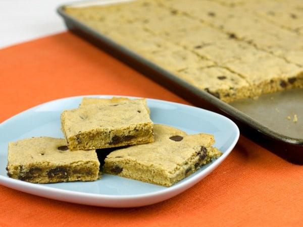 Chocolate Chip Peanut Butter Bar Cookies-7b