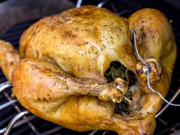 How to cook a whole chicken on the grill-10