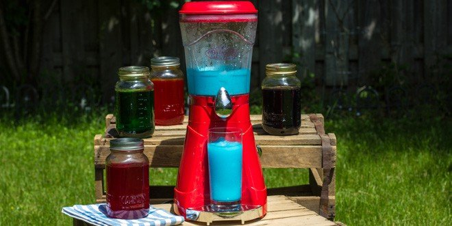 Is this a summertime solution? Nostalgia electrics slush maker review.
