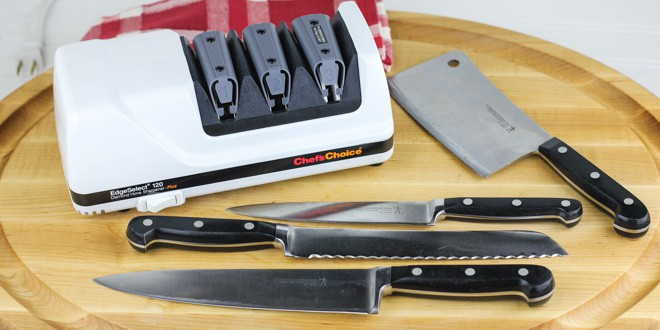 Edgeselect Professional Knife Sharpener Model 120 Product Review