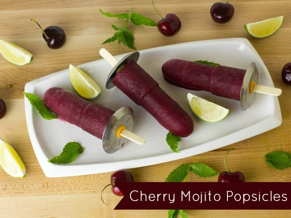 Cherry Mojito Popsicle-text
