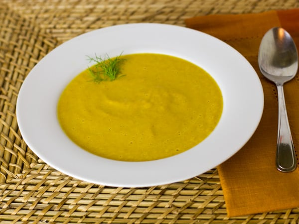 Curried Carrot and Fennel Soup-2
